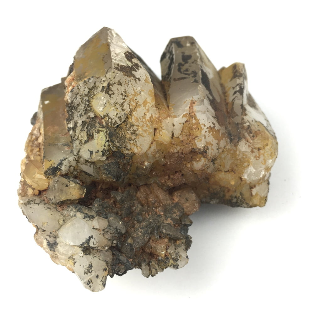 Uncleaned Natural Quartz Crystal Cluster QC7-#QC7-4