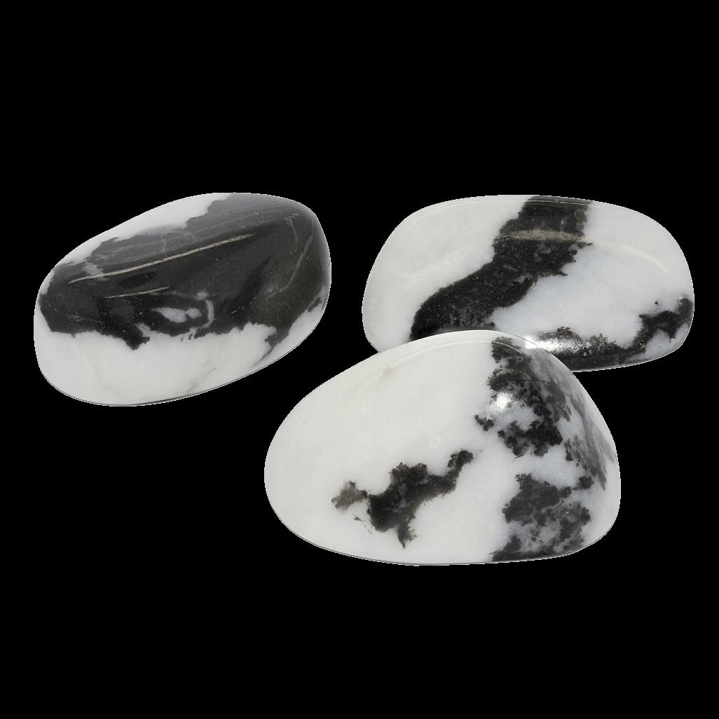 ZB Zebra Jasper Therapy Stone