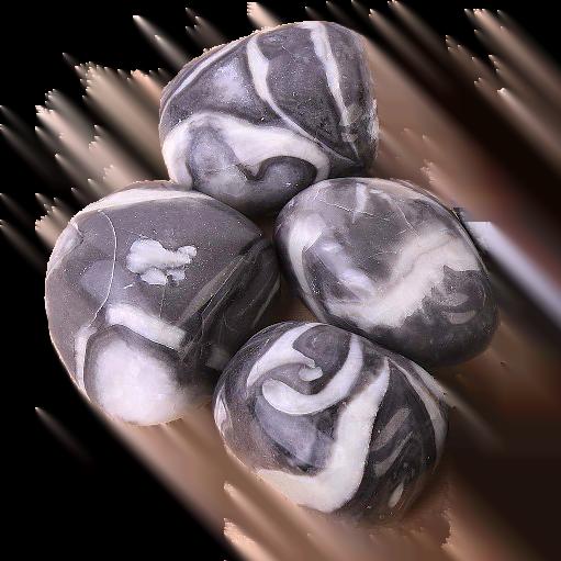 Shell Jasper Therapy Stone