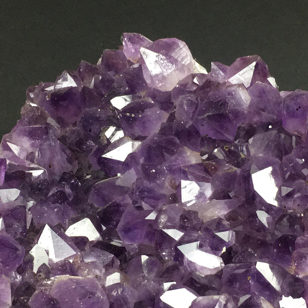 Amethyst Quartz Cluster Cathedral Section AM38-#AM38-5