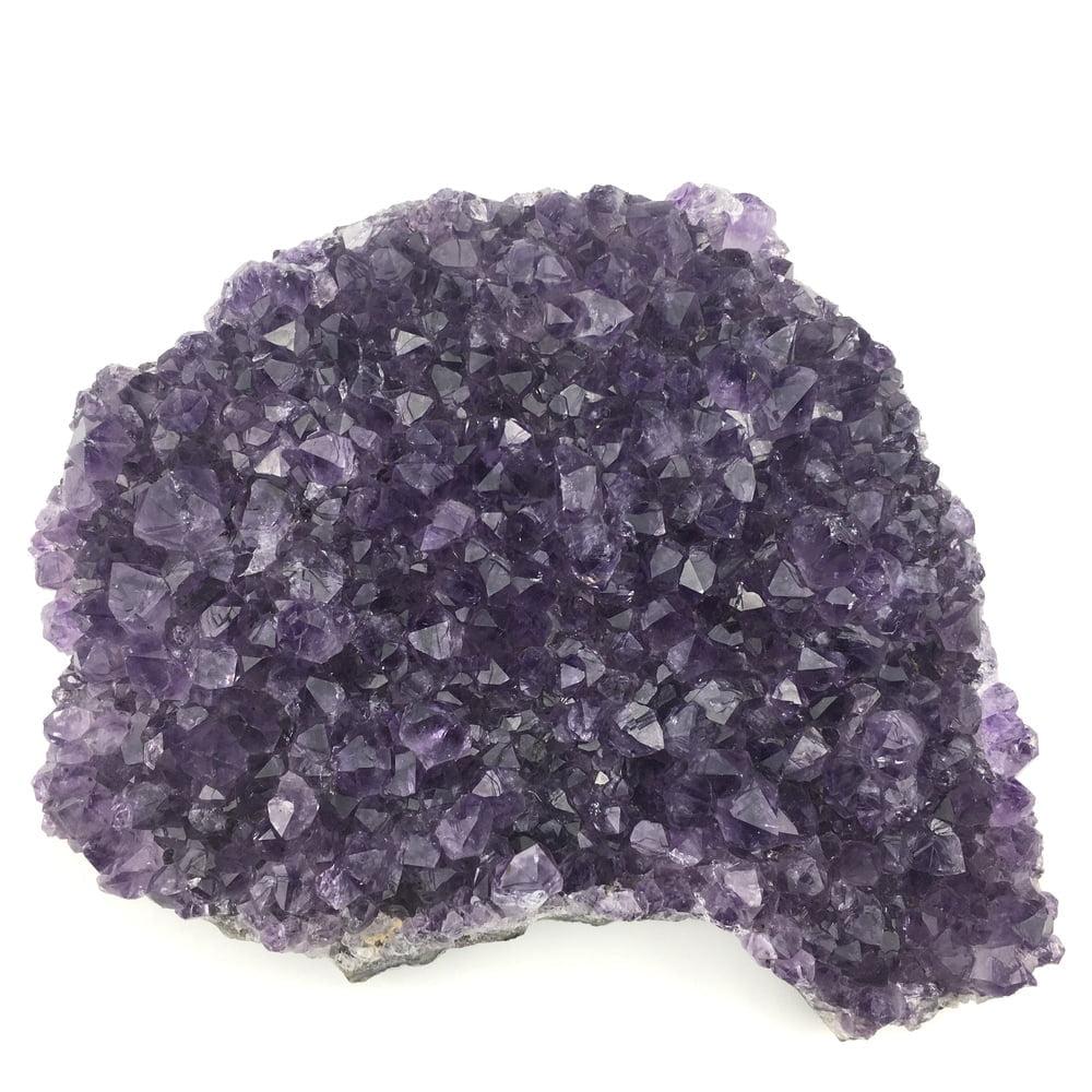Amethyst Quartz Crystal Cluster AM104-#AM104-2