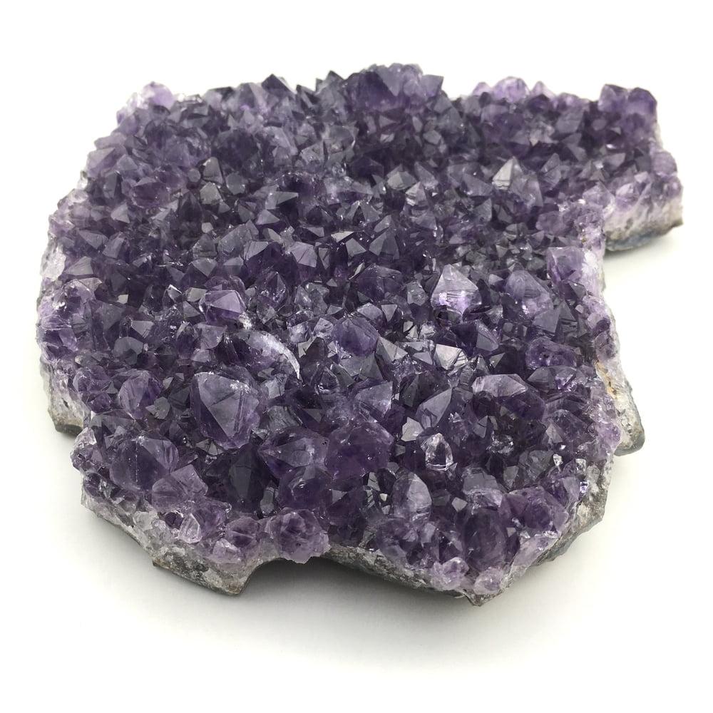 Amethyst Quartz Crystal Cluster AM104-#AM104-4