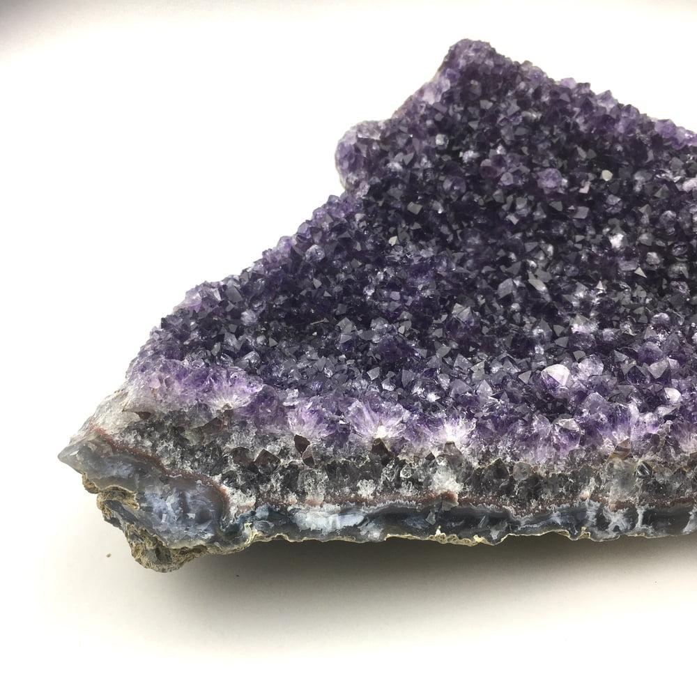 Amethyst Quartz Crystal Cluster Deep Purple AM101-#AM101-4