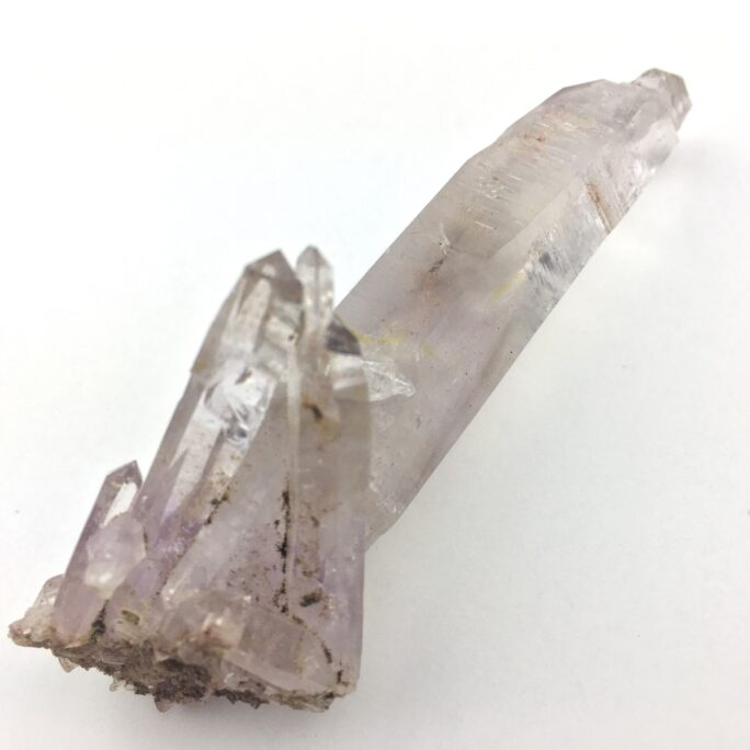 Amethyst Quartz Crystal Scepter With Secondary Crystals and 2 Trigger Crystals AM107-#AM107-2
