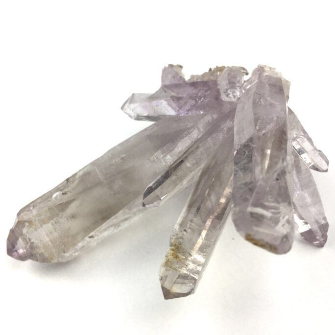 Amethyst Quartz Crystals Cluster with Healed Crystal AM110-#AM110-3