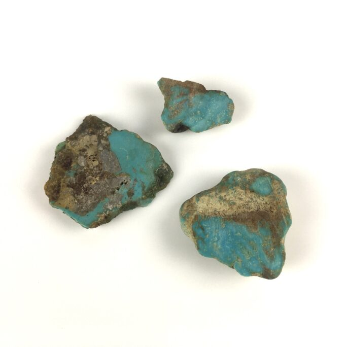 Blue Green Turquoise on Matrix 3 Pieces TC10-#TC10-1