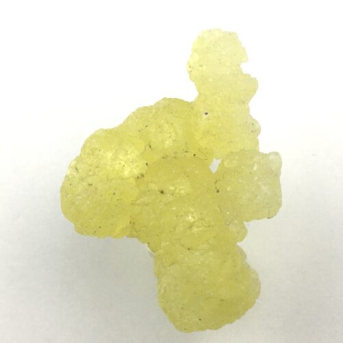Brucite Beautiful Yellow Cluster of Translucent Crystals BR4-#BR4-1