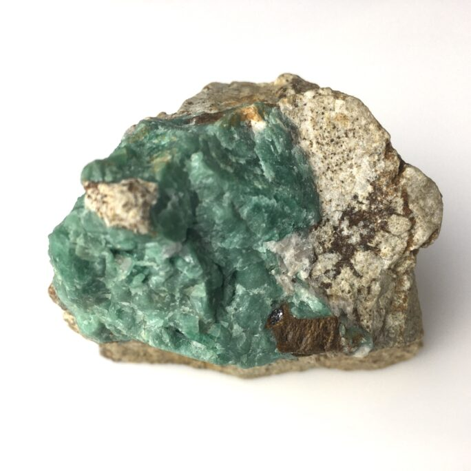 Emerald Specimen With High Chromium Content from Panjshir Valley Afganistan-#EM1-1