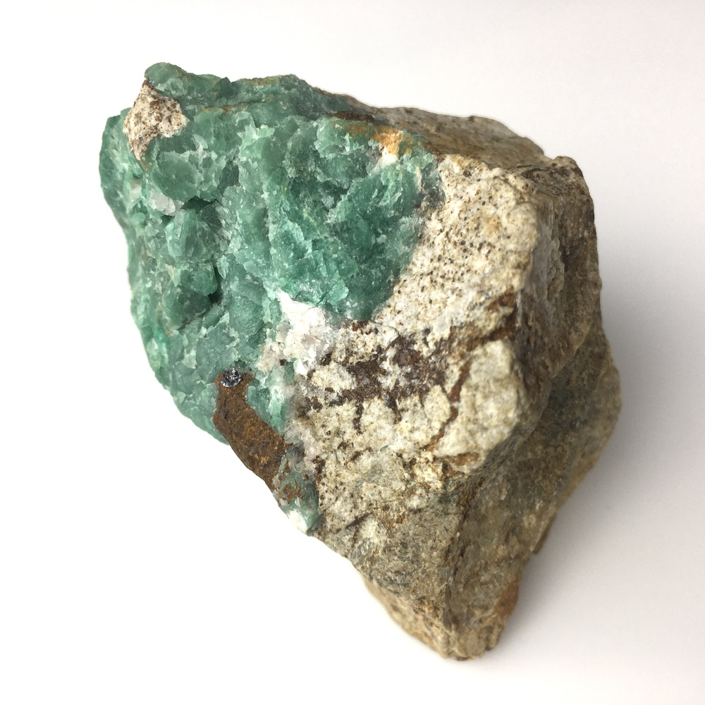 Emerald Specimen With High Chromium Content from Panjshir Valley Afganistan-#EM1-2