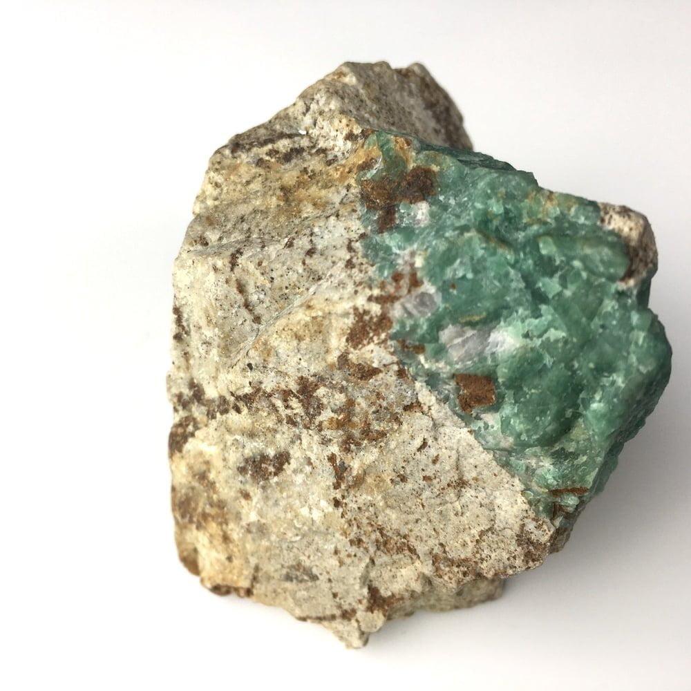 Emerald Specimen With High Chromium Content from Panjshir Valley Afganistan-#EM1-3