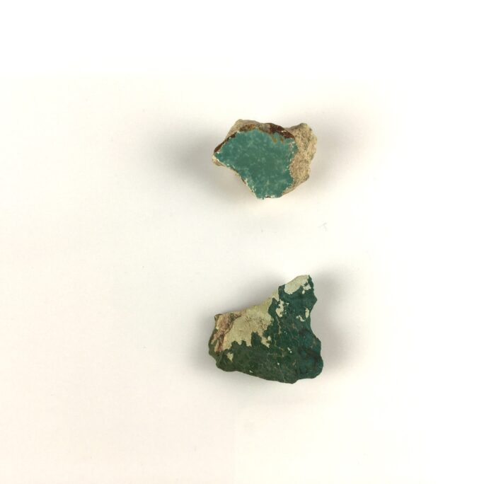 Green Turquoise on Matrix 2Pieces TC11-#TC11-1