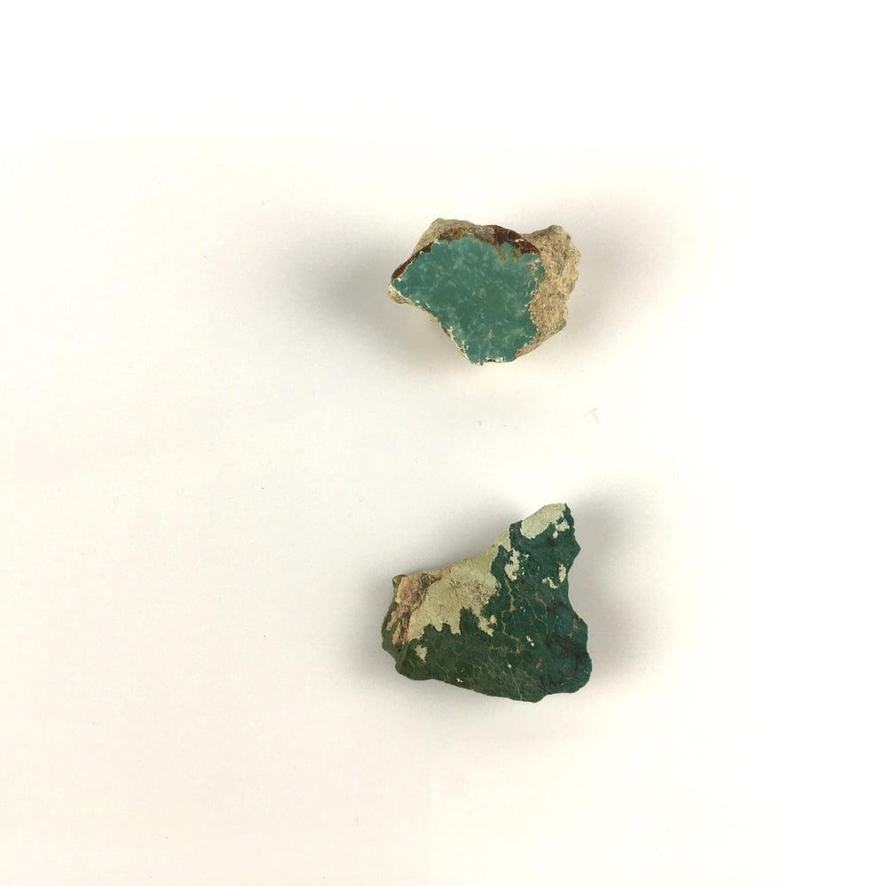 Green Turquoise on Matrix 2Pieces TC11-#TC11-1