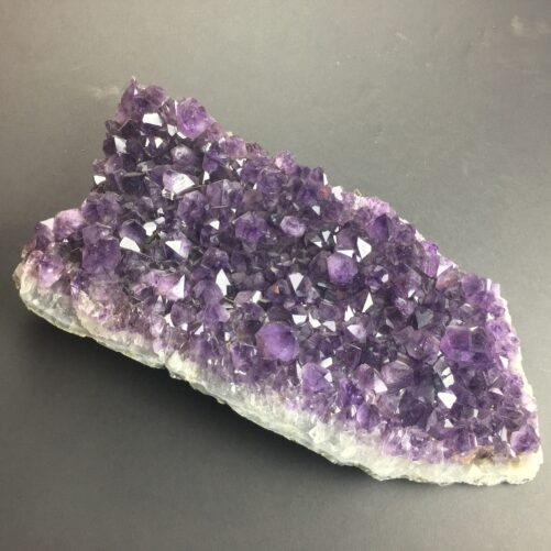 Large Amethyst Cluster Partial Cathedral Display Piece with Gem Wuality Crystals AM29-#AM29-1