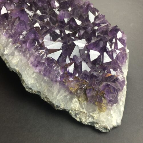 Large Amethyst Cluster Partial Cathedral Display Piece with Gem Wuality Crystals AM29-#AM29-3