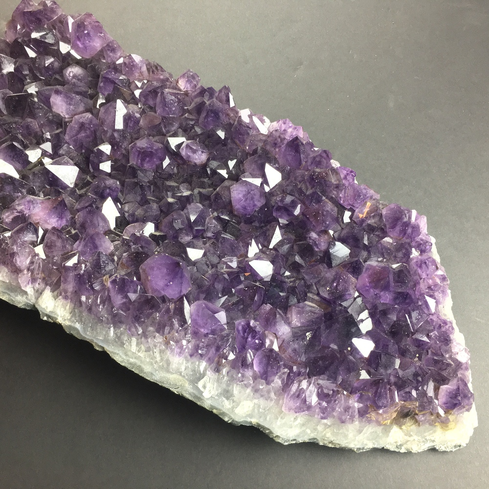 Large Amethyst Cluster Partial Cathedral Display Piece with Gem Wuality Crystals AM29-#AM29-4