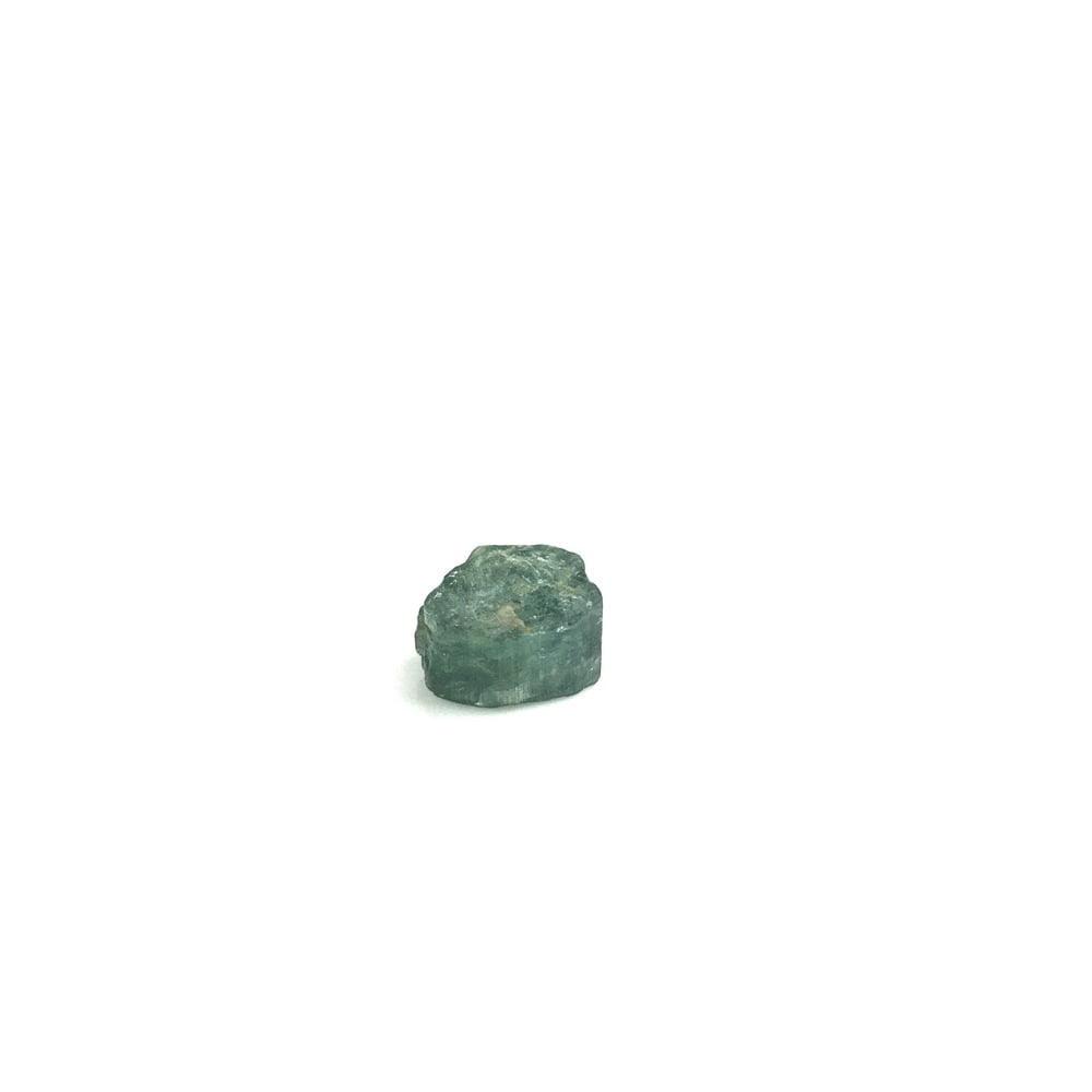 Rare Blue Indicolite Tourmaline Natural Crystal Section-#TOU4-1
