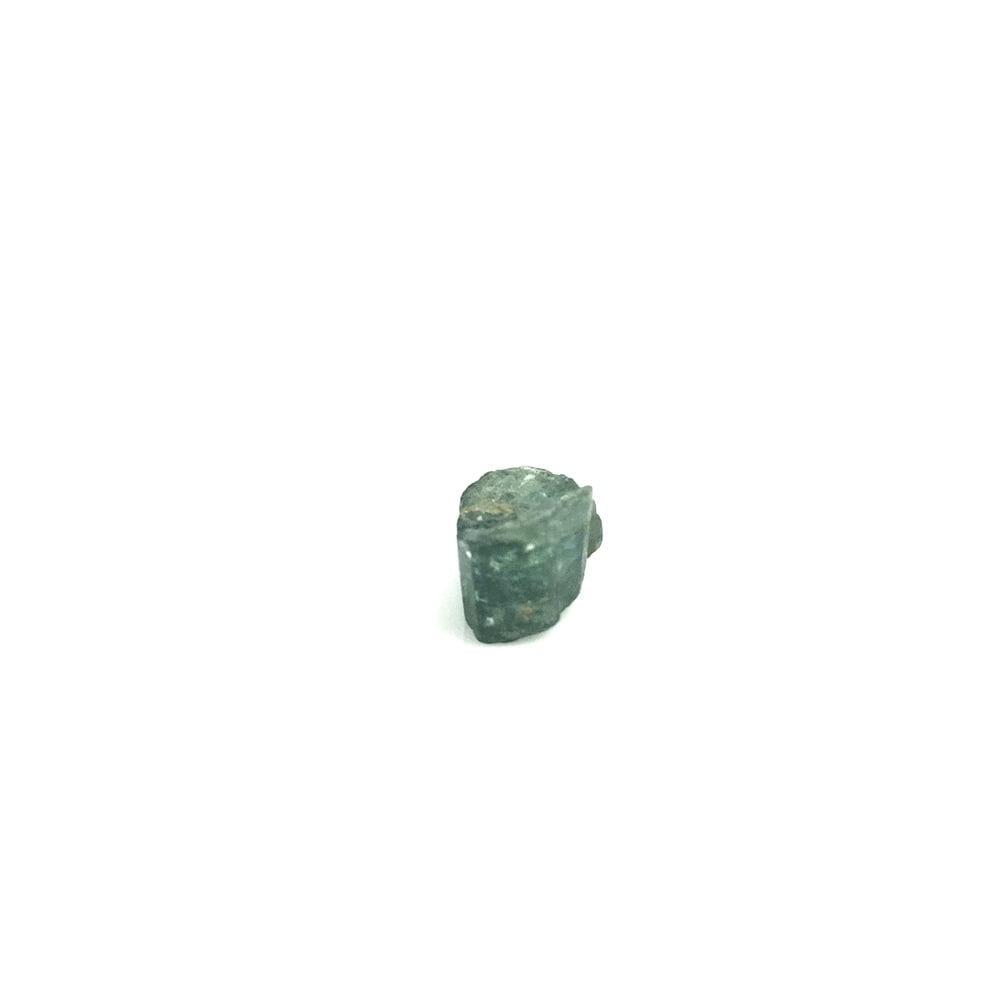 Rare Blue Indicolite Tourmaline Natural Crystal Section-#TOU4-2