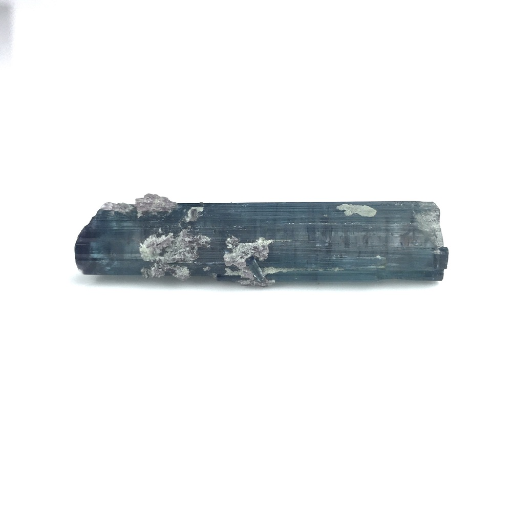 Rare Blue Indicolite Tourmaline Natural Crystal-#TOU1-7