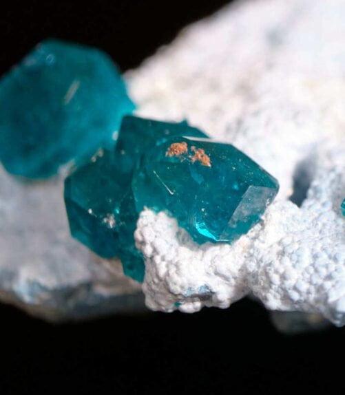 Rare Dioptase on Plancheite Tsumeb Mine Otjikoto Region Namibia DIO4-#DIO4-3