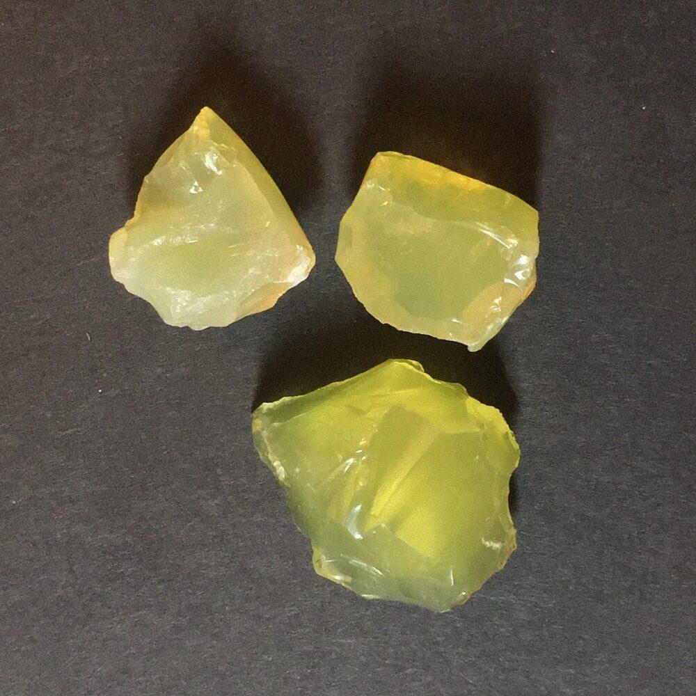 Rare Old Stock Lemon Opal from Idaho LOPL1-#LOPL1-1