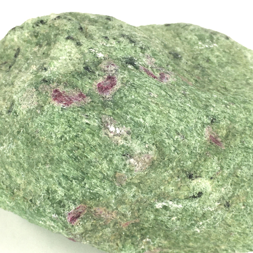 Ruby in Zoisite Natural Rock plus 2 Separate Ruby Crystals!-#RZ3-3