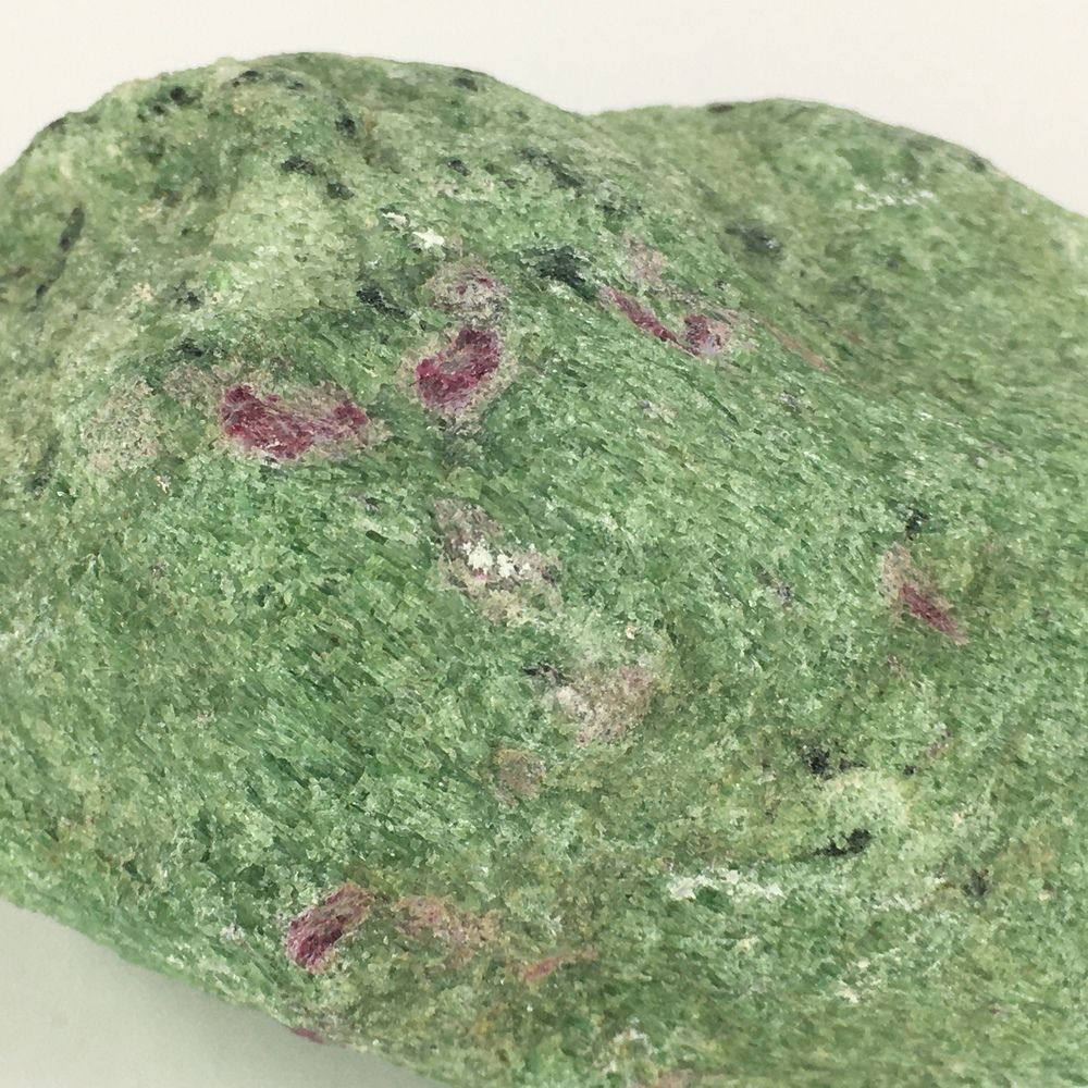 Ruby in Zoisite Natural Rock plus 2 Separate Ruby Crystals!-#RZ3-4
