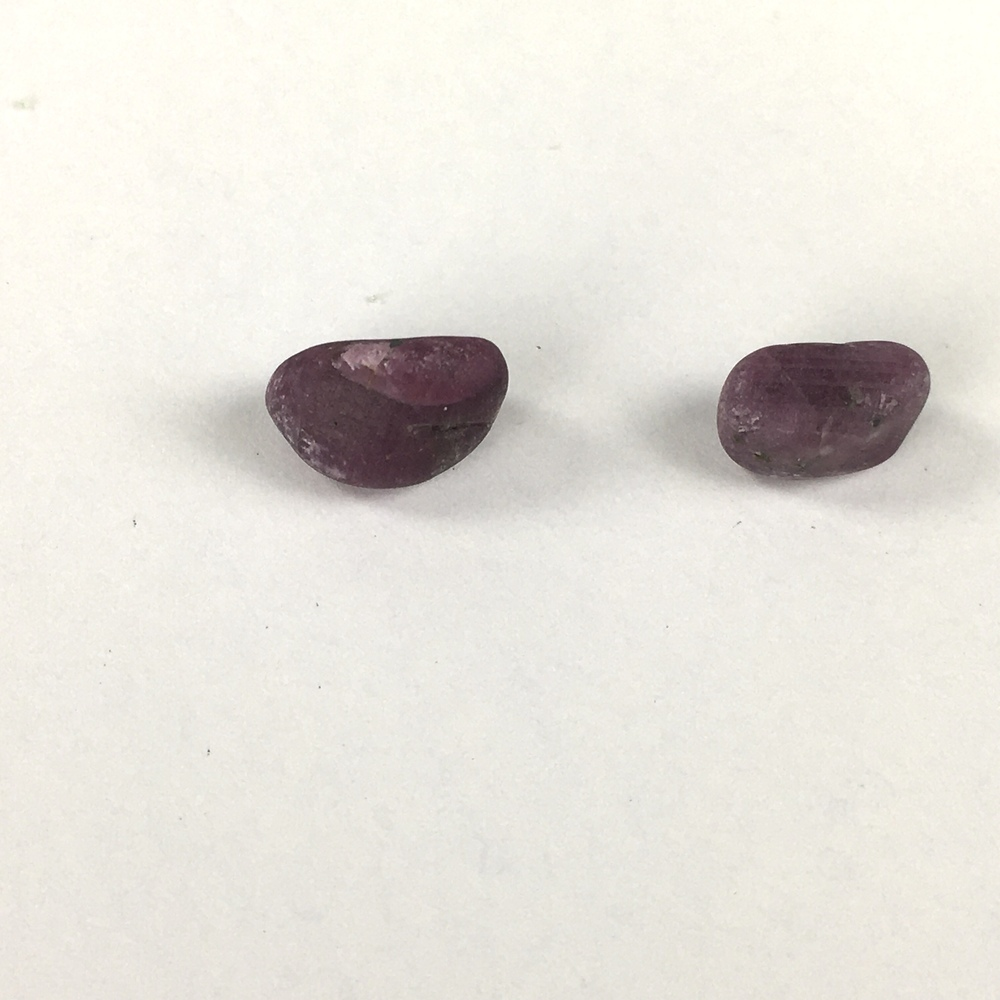 Ruby in Zoisite Natural Rock plus 2 Separate Ruby Crystals!-#RZ3-5