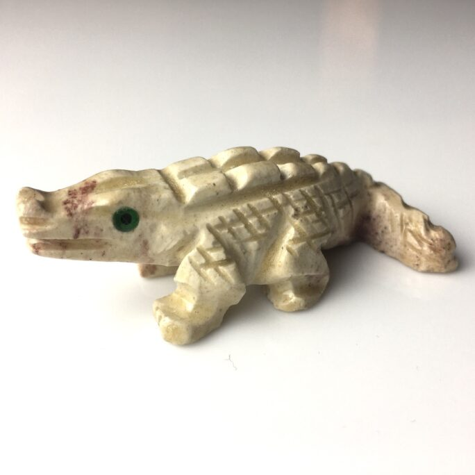 Small Alligator Animal Carving SCULP6-#SCULP6-1