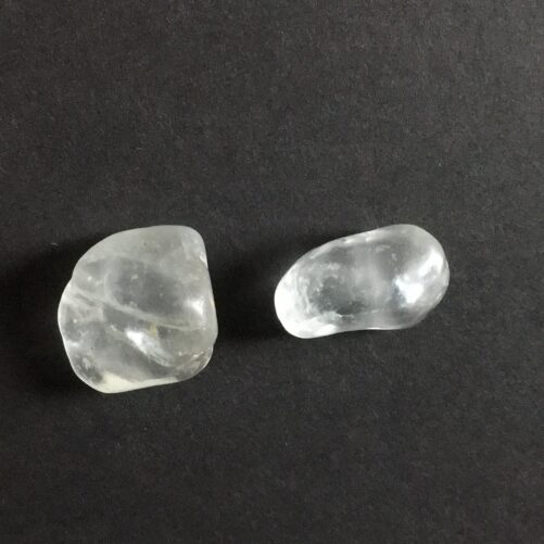 Topaz Natural Alluvial Crystals Very Lite Blue to Clear Colors TOP4-#TOP4-2